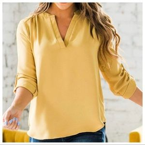 Chic and stylish woven tunic top